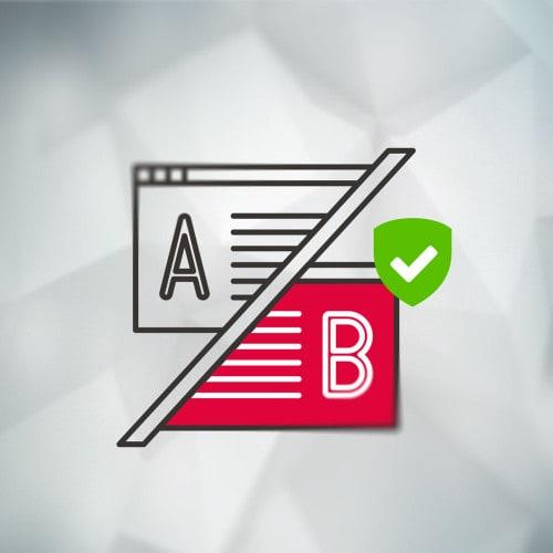 Logo für A/B Test