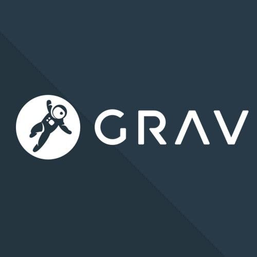 GRAV CMS Logo
