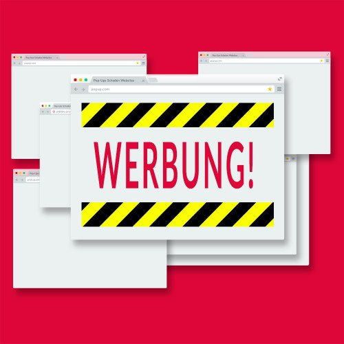 Pop-Up Werbung