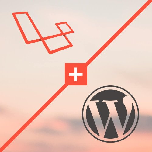 Laravel Lumen & Wordpress Logo