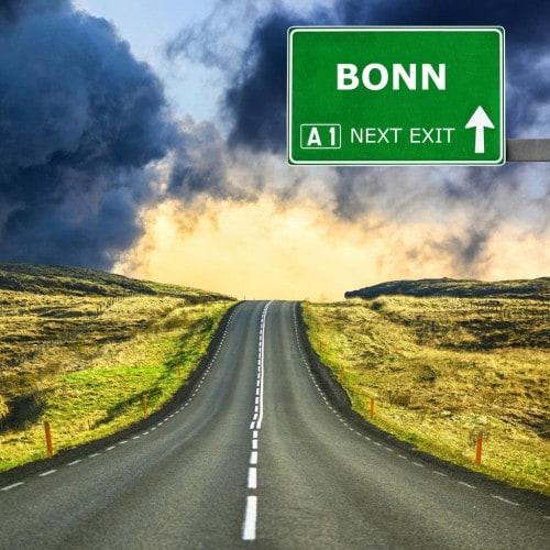 Straße nach Bonn
