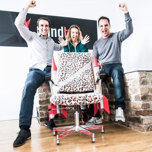 Mindtwo gewinnt den Hot Rod Rocket Chair von T3N