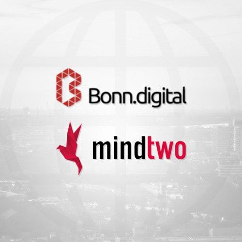 Bonn.digital & mindtwo Logo