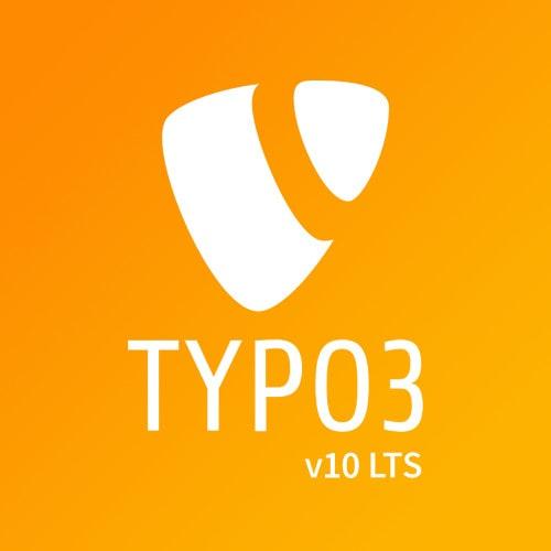 TYPO3 v10 LTS Logo