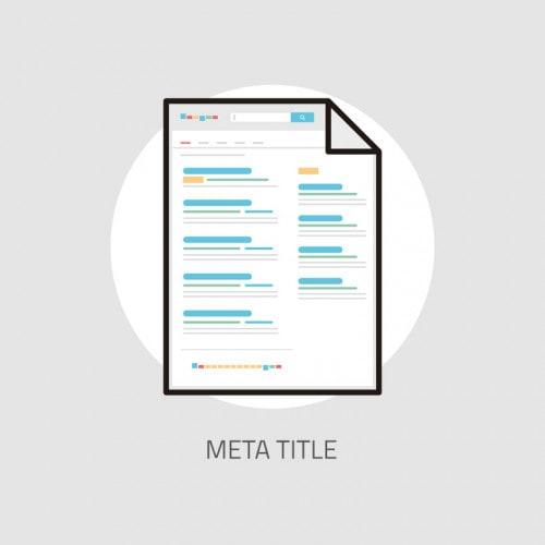 Grafik für Meta Title
