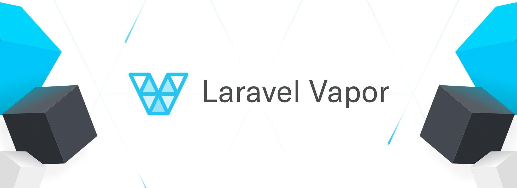 Laravel Vapor Logo Banner