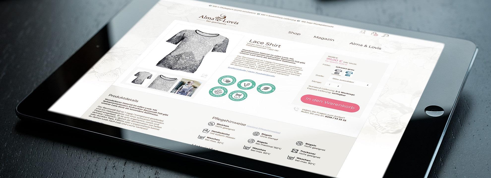 Online-Agentur für die gesamte E-Commerce-Branche